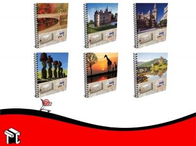 Cuaderno Con Espiral 22x29,7 Apuntes Travel 150h Cuad