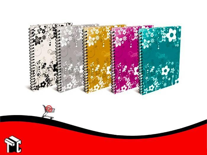Cuaderno Arte Bloom 80 Hojas Cuadriculadas
