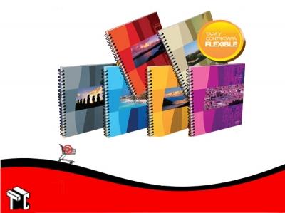 Cuaderno Con Espiral 16 × 21 América Nos 80 Hojas Rayadas