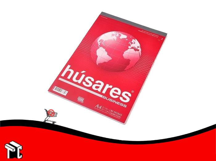 Block A4 Husares Business 80 Hojas Cuadriculadas
