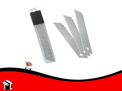 Repuesto Cutter Cuchilla 18mm X 10 Unidades
