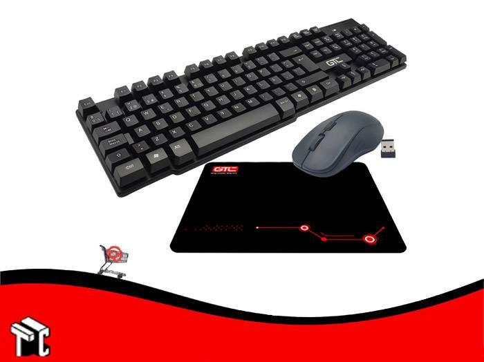 Teclado Y Mouse Inalámbrico Cbg-012 Gtc