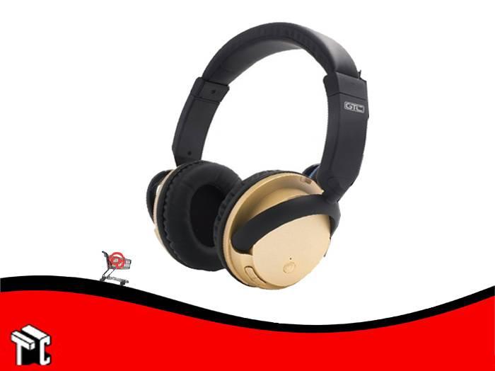 Auricular Bluetooth Gtc Az-gold Hsg-174