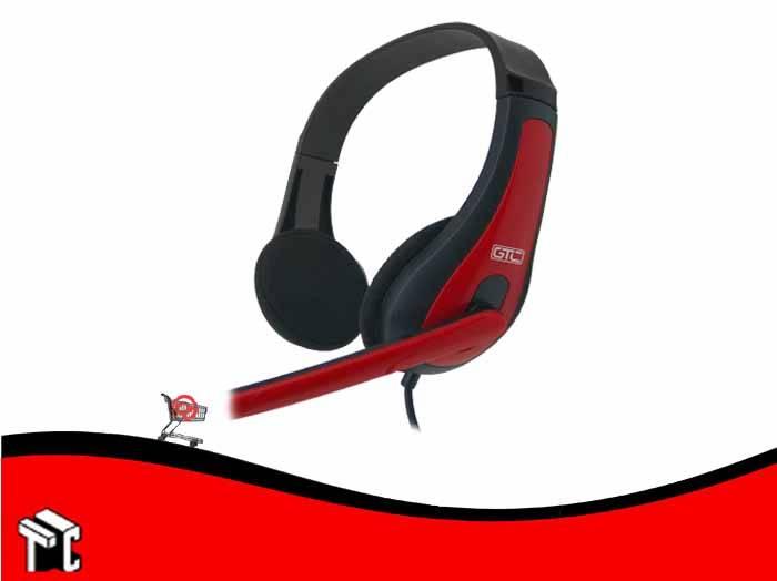 Auricular Con Microfono Estereo Gtc Hsh-442