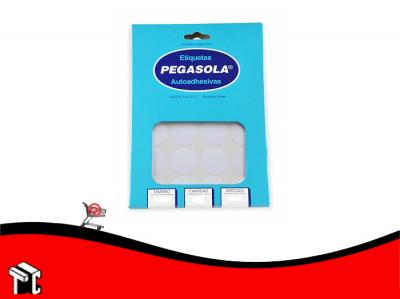 Etiqueta Pegasola A5 3003 Diámetro 12