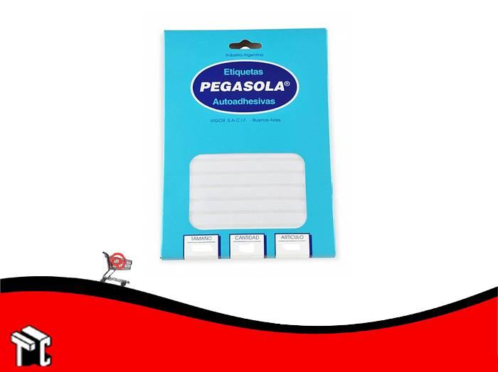 Etiqueta Pegasola A5 3023 15x50