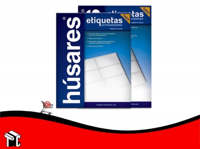Etiqueta Carta Húsares Ch35130 6,67x2.54 Cm X 100 Ud.