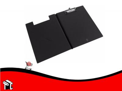 Placa Portablock Con Tapa Y Clip Oficio
