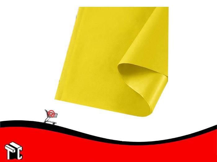 Papel Barrilete 50 X 70 Amarillo X 50 Unidades