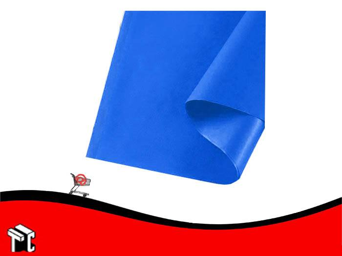 Papel Barrilete 50 X 70 Azul X 5 Unidades