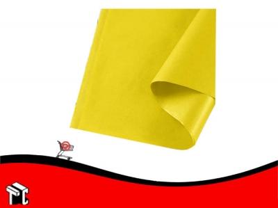 Papel Barrilete 50 X 70 Amarillo X 5 Unidades
