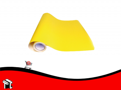 Pvc Autoadhesivo Amarillo X 15 Mts