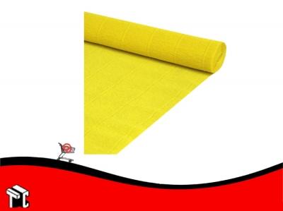 Papel Crepe Color Amarillo Mil28