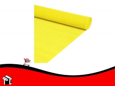 Papel Crepe Fluo Amarillo Mil28