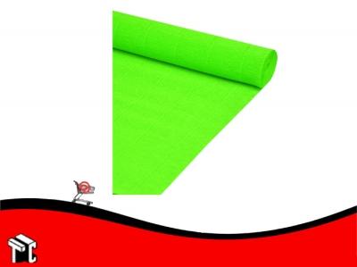 Papel Crepe Fluo Verde Mil28
