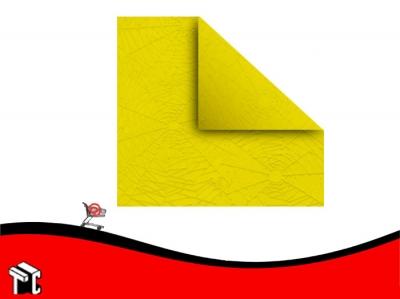 Papel Plastificado Muresco Araña Amarillo