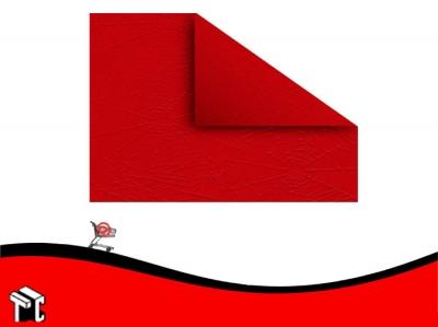 Papel Plastificado Muresco Araña Rojo