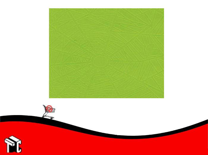 Papel Plastificado Muresco Araña Verde Manzana