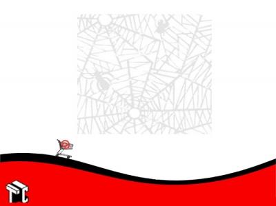 Papel Plastificado Muresco Araña Blanco