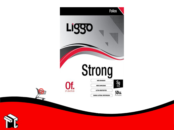 Folio Oficio Strong X 50 Ud.