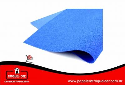 Plancha De Goma Eva Color Azul Toalla