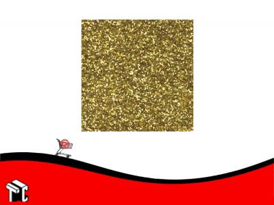 Plancha De Goma Eva 40x60x2 Mega Brillo Dorado