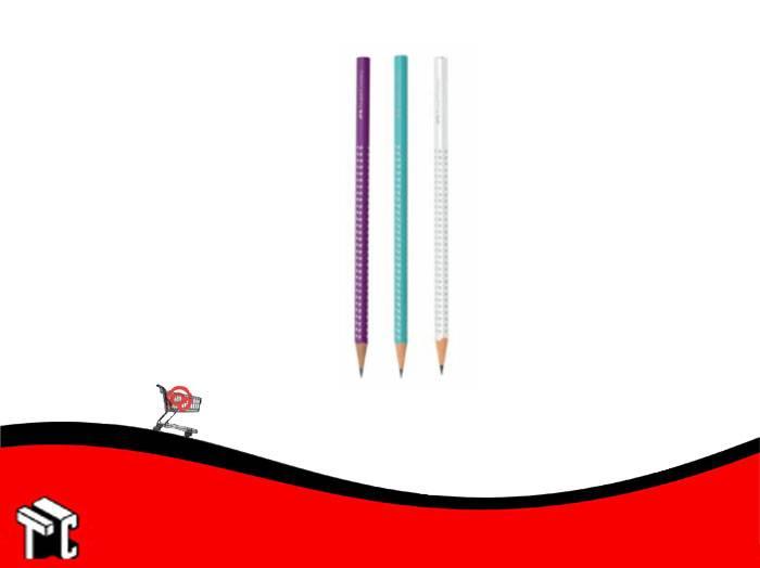Lapiz De Grafito Sparkle Faber Castell Pastel