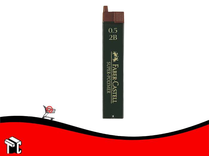 Mina Para Lápiz Faber Castell 0,5 Mm 2b X 12