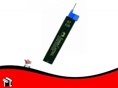 Mina Para Lápiz Faber Castell 0,7 Mm Hb X 12