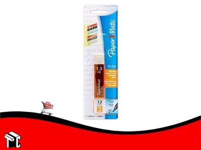 Mina Para Lápiz Paper Mate 1.3mm Hb X 12 Ud