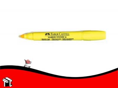 Marcador Al Agua Faber-castell 56 Amarillo