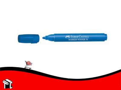 Marcador Al Agua Faber-castell 56 Azul