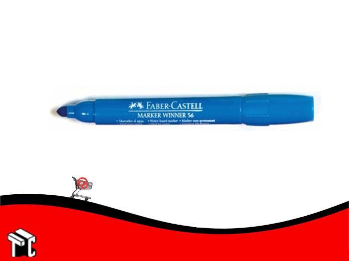 Marcador Al Agua Faber-castell 56 Celeste