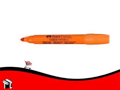 Marcador Al Agua Faber-castell 56 Naranja