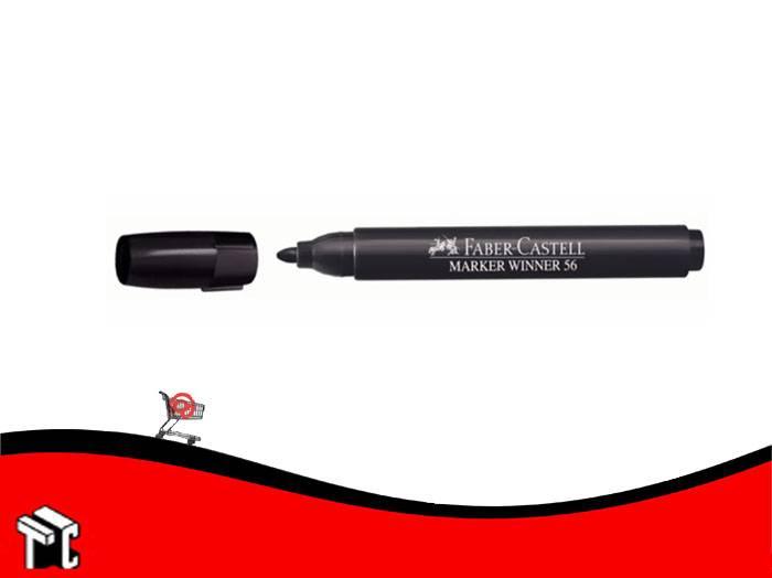 Marcador Al Agua Faber-castell 56 Negro