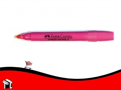 Marcador Al Agua Faber-castell 56 Rosa