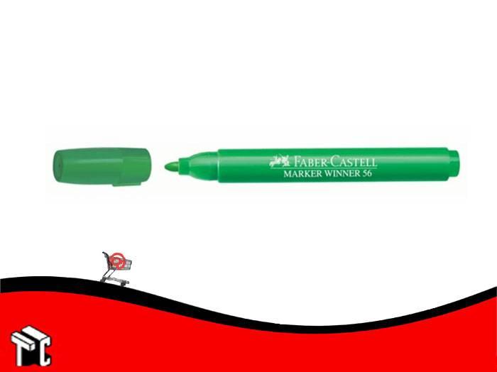 Marcador Al Agua Faber-castell 56 Verde