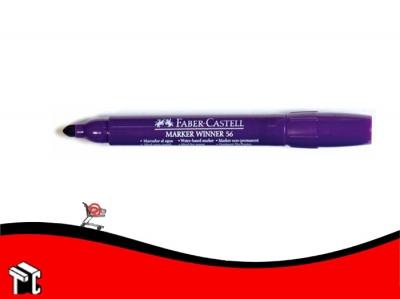 Marcador Al Agua Faber-castell 56 Violeta