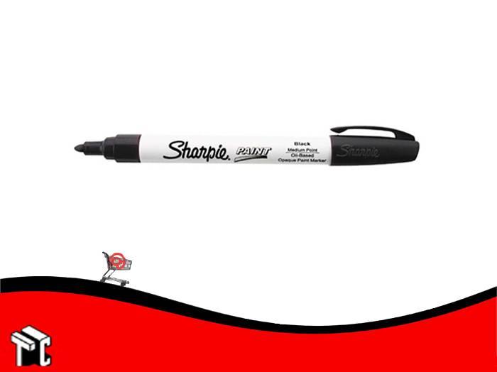 Marcador Permanente Sharpie Paint Negro