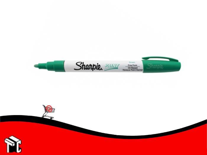 Marcador Permanente Sharpie Paint Verde