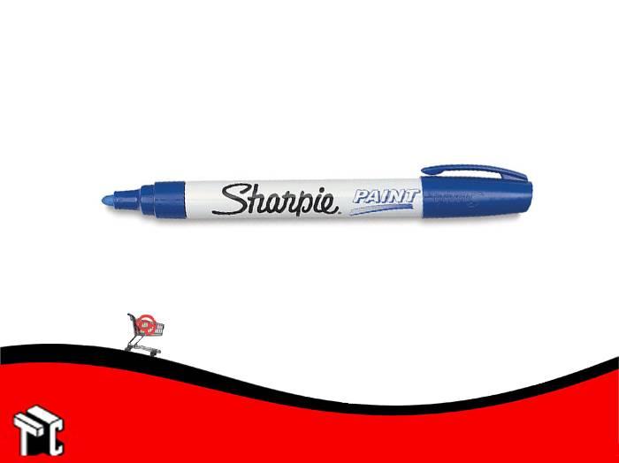 Marcador Permanente Sharpie Paint Azul