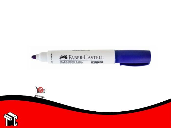 Marcador Para Pizarra Blanca Faber-castell Winner 152 Azul