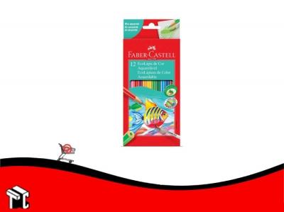 Lapiz De Color Faber Castell Acuarelables X 12 U. L.