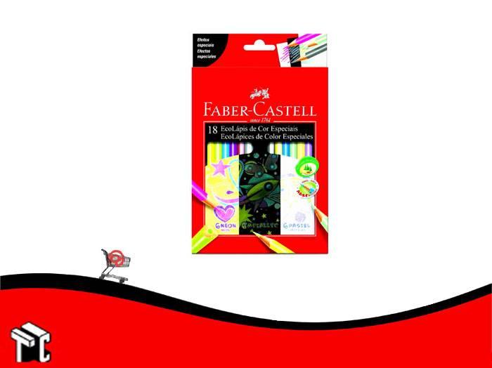 Lapiz De Color Faber Castell Especiales X 18 Unidades Largos