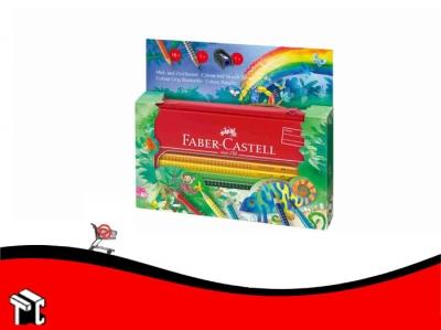 Lapiz De Color Faber Castell Grip Jumbo Jungla