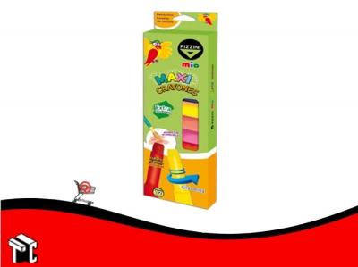 Crayones Pizzini Maxi Retractil X12