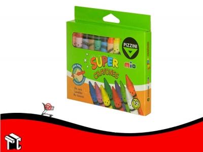 Crayón Super Pizzini X 12