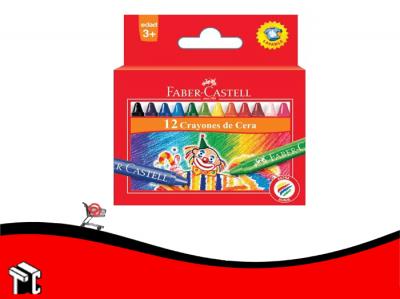Crayon A La Cera Faber Castell X 12