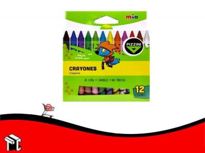 Crayon Mio Pizzini X 12