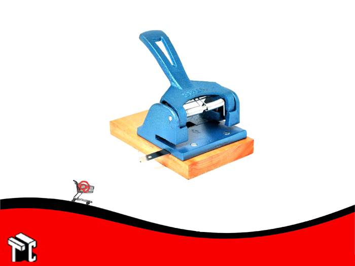 Perforadora Base De Madera Con Guia Graduable